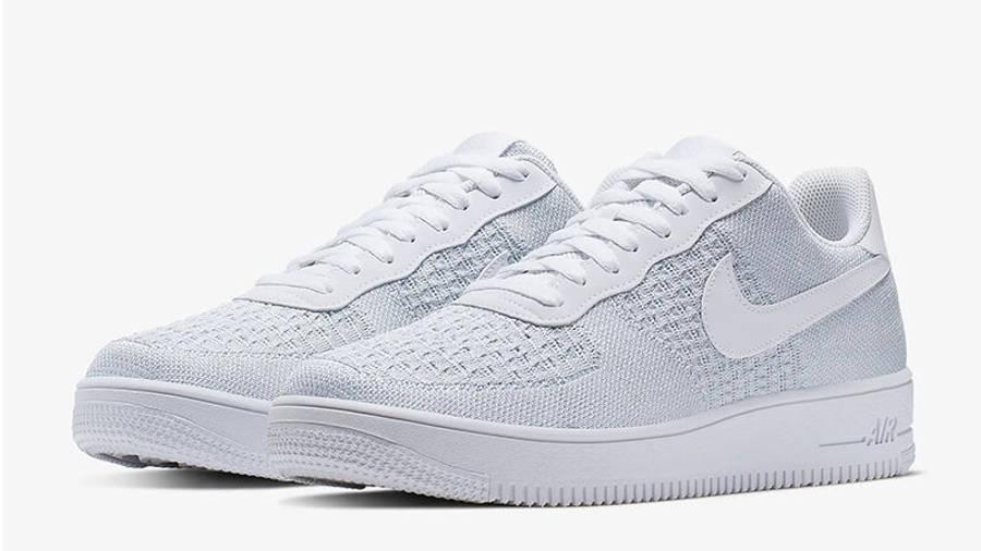Nike Air Force 1 Flyknit 2.0 White | Where To Buy | AV3042-100 ...