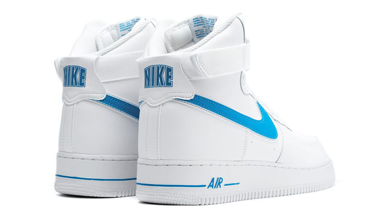 Nike Air Force 1 High 07 3 White Blue Where To Buy At4141 102