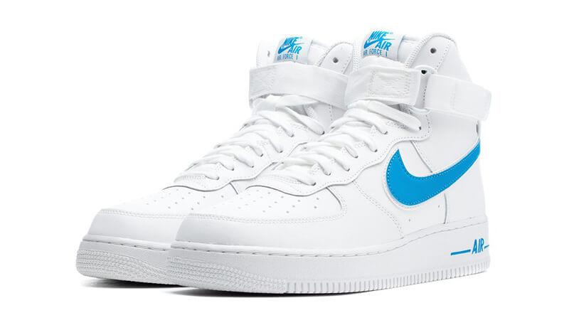 Nike Air Force 1 High 07 3 White Blue