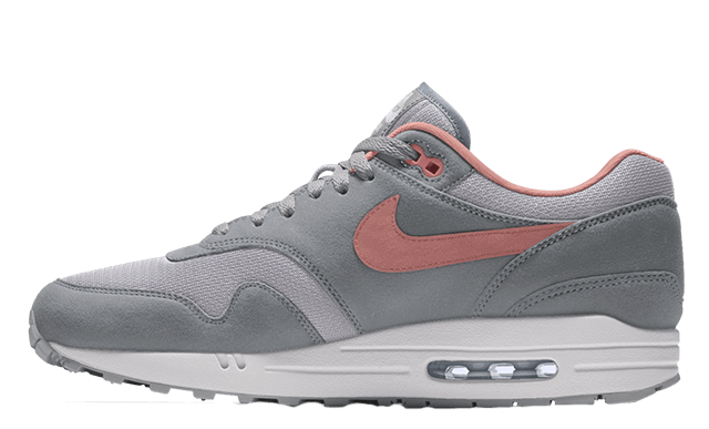 Nike Air Max 1 By You Grey