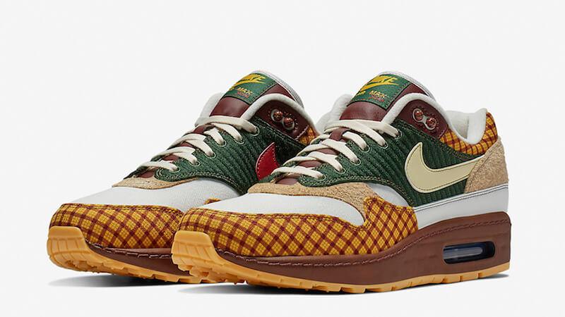 Green Nike Air Max 1 Susan Sneakers