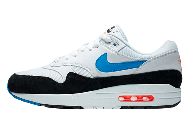 Nike Air Max 1 White Blue Orange AH8145-112
