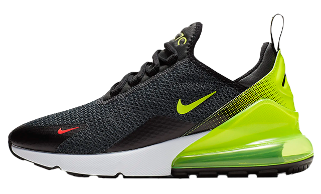 Nike Air Max 270 Black Volt | AQ9164-005