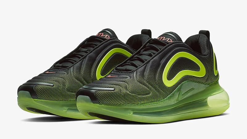 Nike Air Max 720 Neon Black