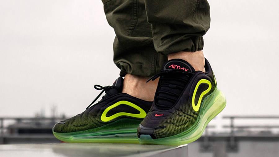 Nike Air Max 720 Neon Black | Where To