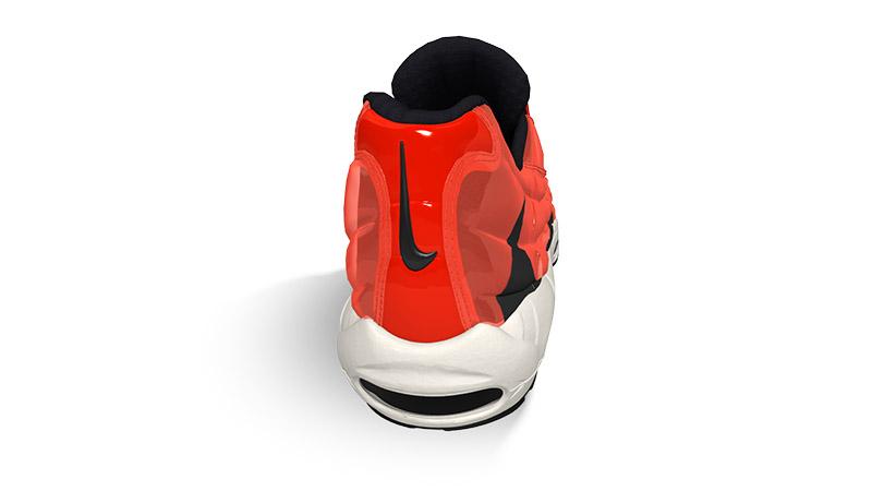 Nike Air Max 95 Heron Preston By You back