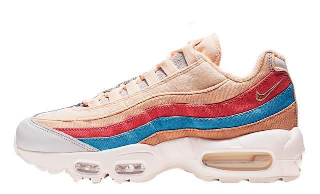 Nike Air Max 95 Plant Color Pack Coral Stardust Womens CD7142-800