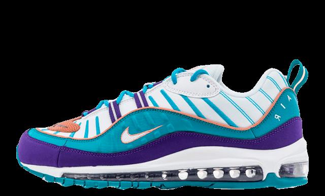 Nike Air Max 98 Purple Teal 640744-500