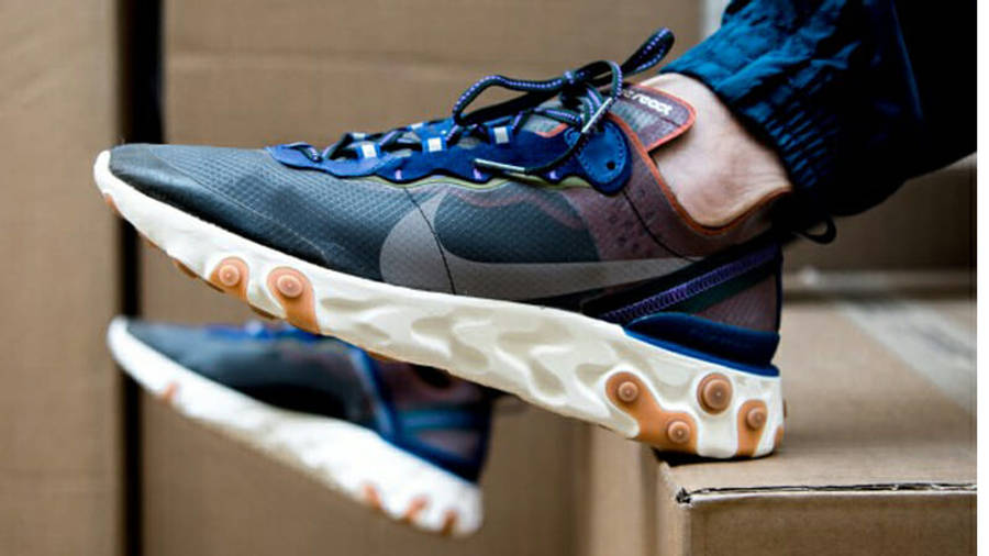 Nike React Element 87 Dusty Peach On Foot