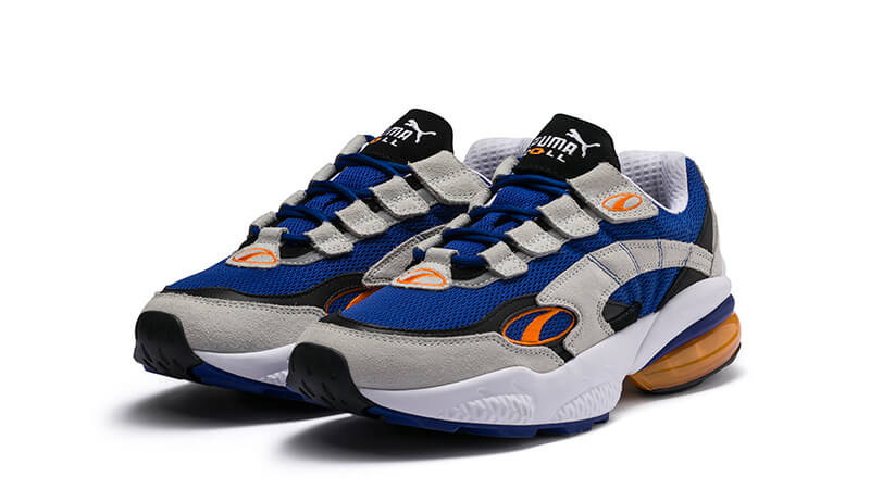 PUMA Cell Venom Blue White 369354-02 front