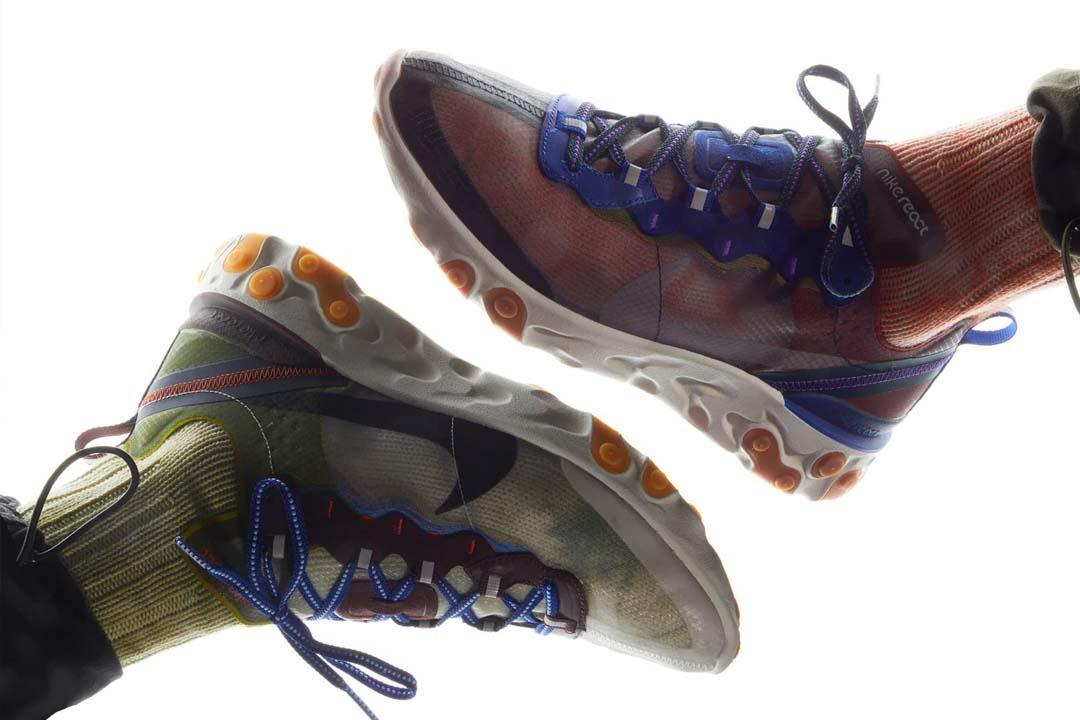construcción racional estilos clásicos 60% de descuento Don't Miss Out On This Week's Nike React Element 87 'Dusty Peach' & 'Moss'    The Sole Supplier
