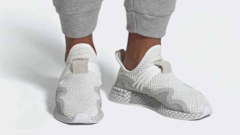 adidas Deerupt S White Grey