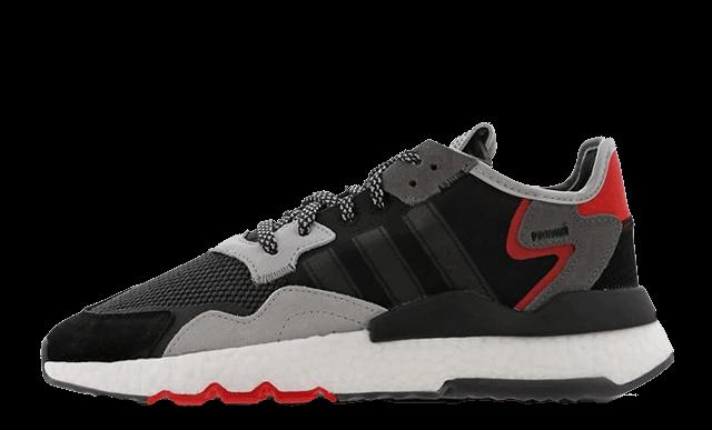 adidas Nite Jogger Black Grey G26311
