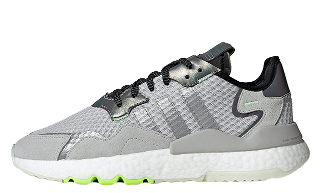 adidas Nite Jogger Grey Silver Volt EF5839