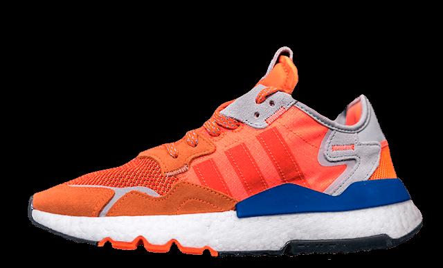 adidas Nite Jogger Orange JD Exclusive