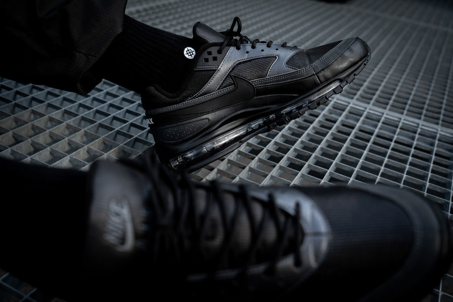 The Nike Air Max 97BW 'Black' Is One Of The Stealthiest