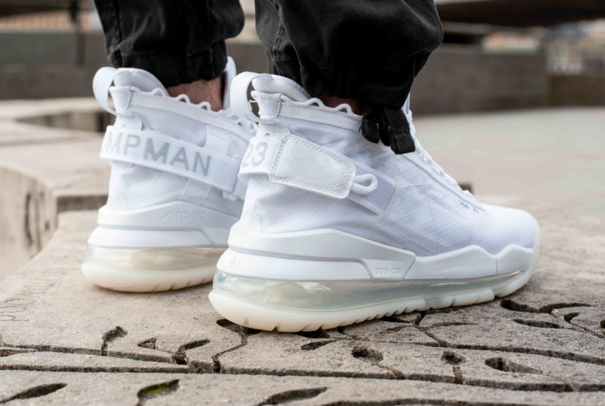 An On Foot Look At The Jordan Proto Max 720 White The Sole Supplier