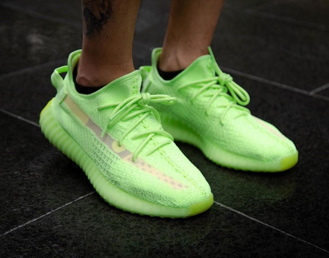 green yeezys