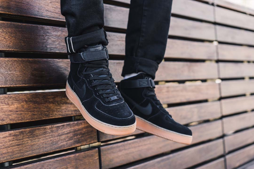 Grab The Nike Air Force 1 High '07 'Black Suede' For Just