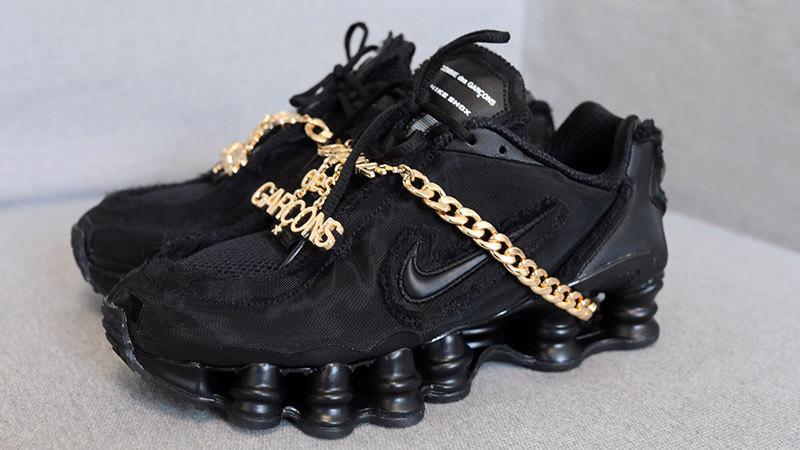 Comme des Garcons x Nike Shox TL Black