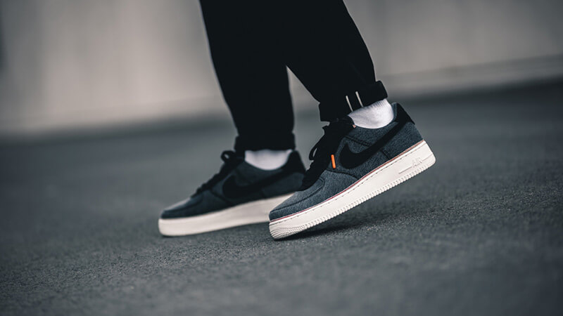 Amargura tubo circuito  Nike Air Force 1 Low Denim Black | Where To Buy | 905345-006 | The Sole  Supplier