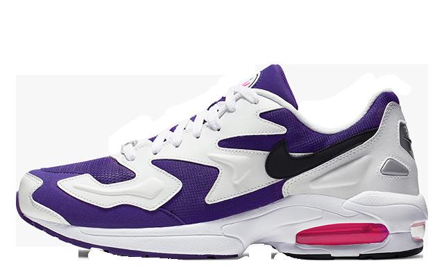 Nike Air Max 2 Light OG White Purple Pink AO1741-103
