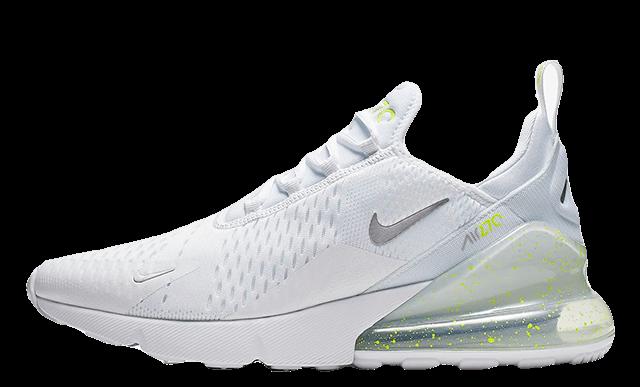 Nike Air Max 270 White Volt CI2671-100