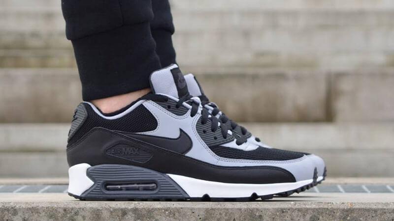 Nike Air Max Black And Grey : Nike
