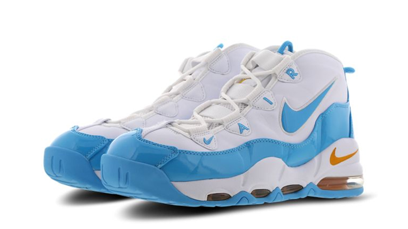 Nike Air Max Uptempo 95 White, Blue