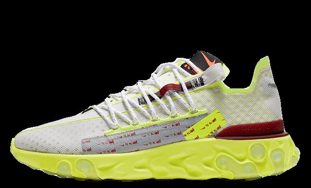 Nike React WR ISPA White Volt CT2692-002 front