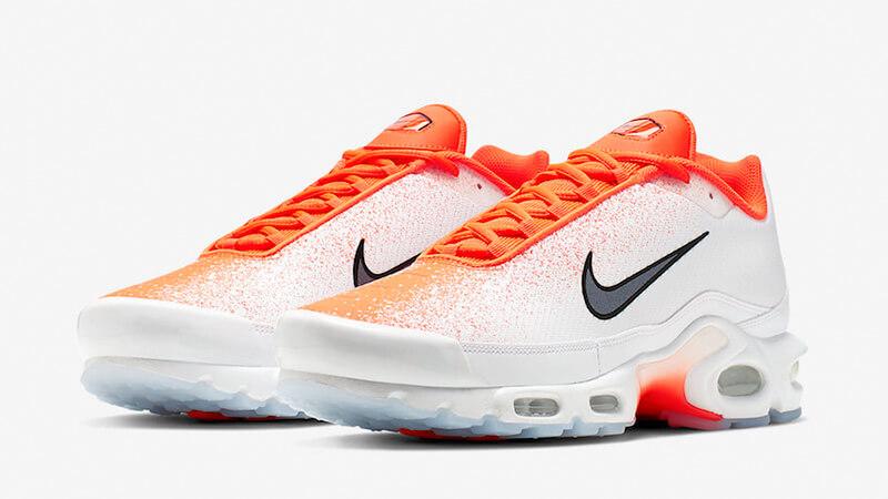 Nike TN Air Max Plus White Orange