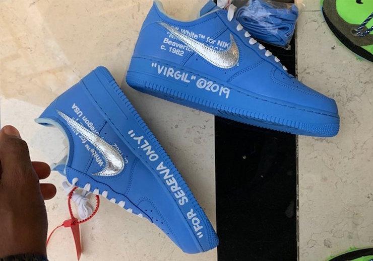 off white af1 blue release date