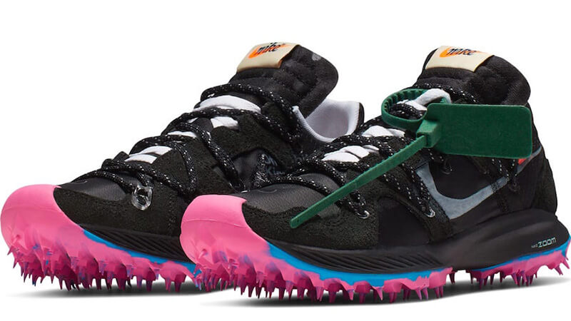 the sale of shoes release date official photos Off-White x Nike Zoom Terra Kiger 5 Black - Where To Buy - CD8179 ...