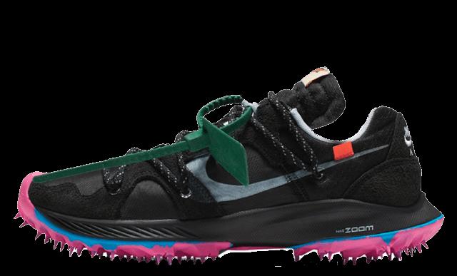 Off-White x Nike Zoom Terra Kiger 5 Black CD8179-001