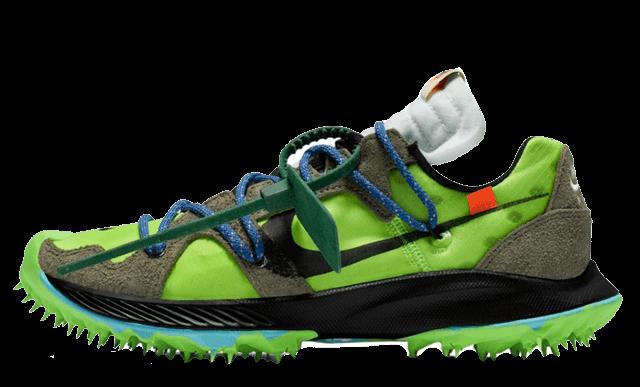 Off-White x Nike Zoom Terra Kiger 5 Green CD8179-300