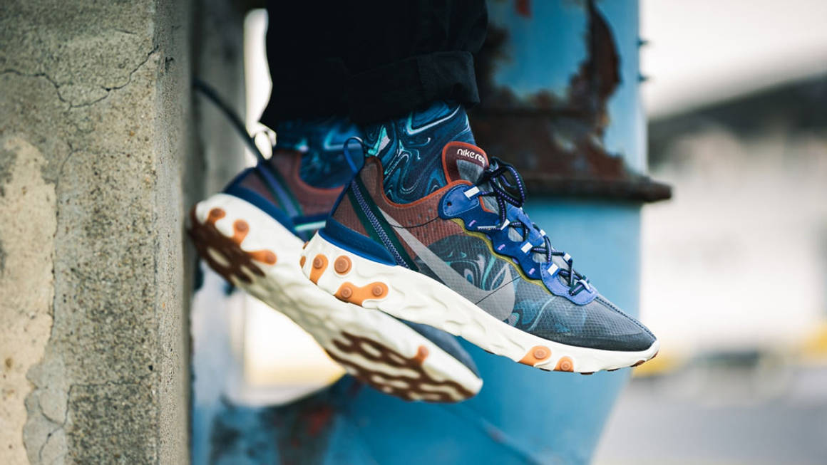 We Can't Believe The Nike React Element 87 'Dusty Peach' Is Still Available!