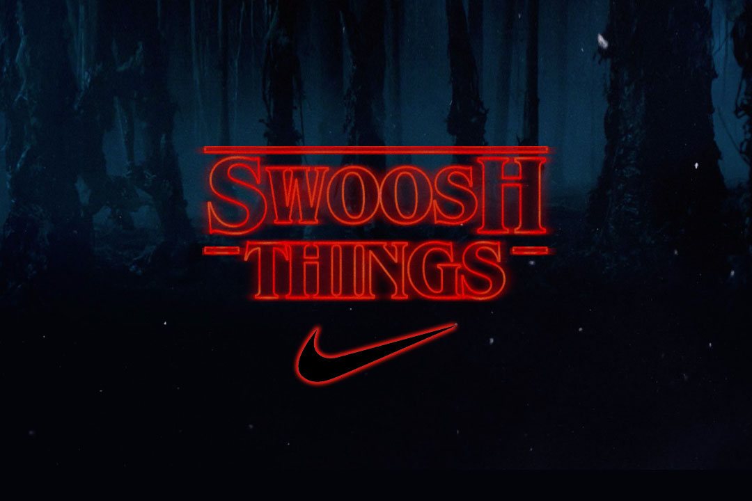 stranger things collab with nike