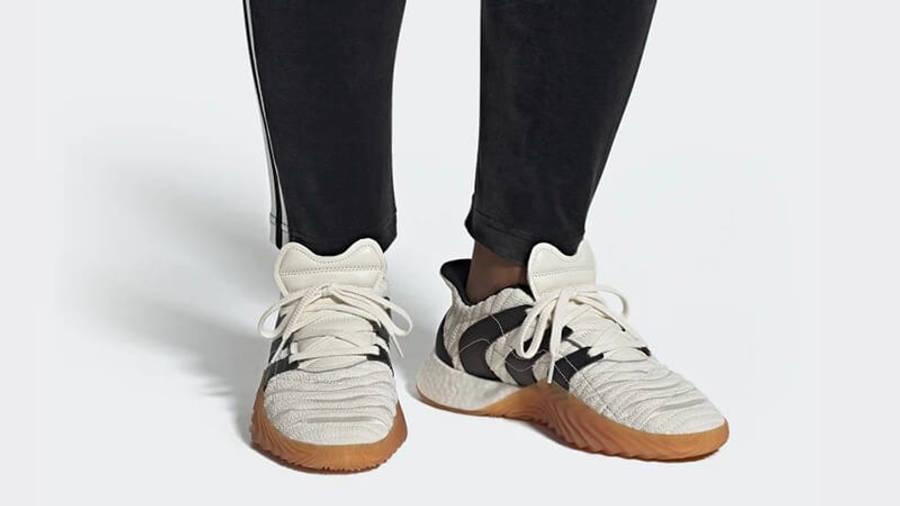 adidas Sobakov Boost White Black