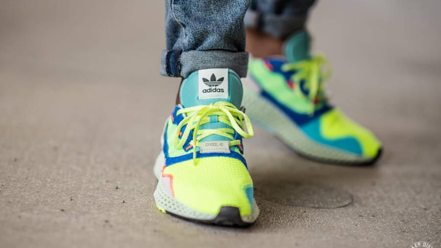 adidas ZX 4000 4D The Boost Lab On Feet Front