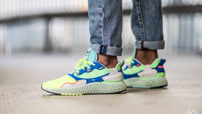 adidas ZX 4000 4D The Boost Lab On Feet Side