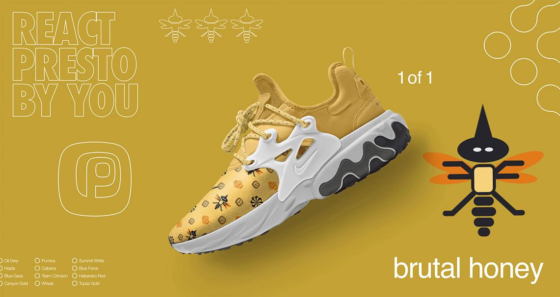 Create A Custom Nike React Presto