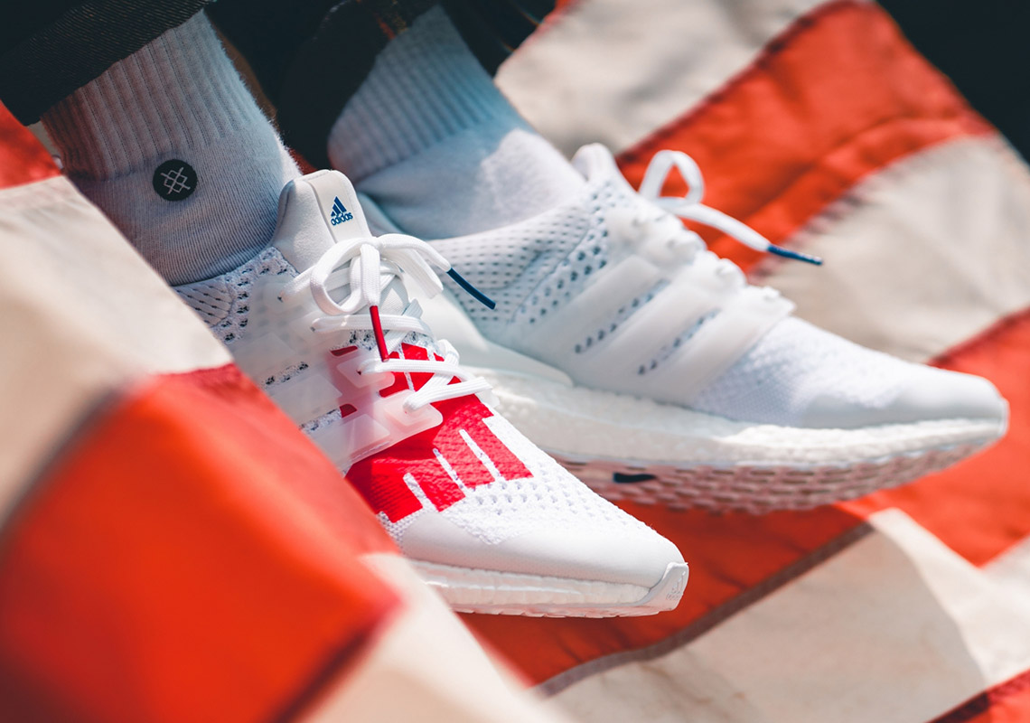 adidas undefeated ultra boost stars and stripes