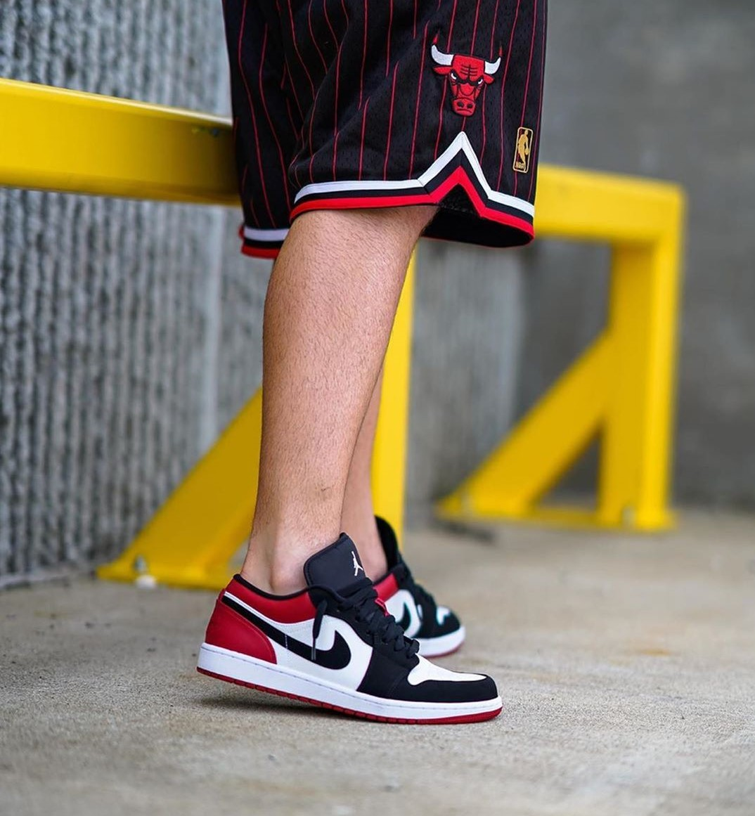 Restock Of The Jordan 1 Low 'Black Toe