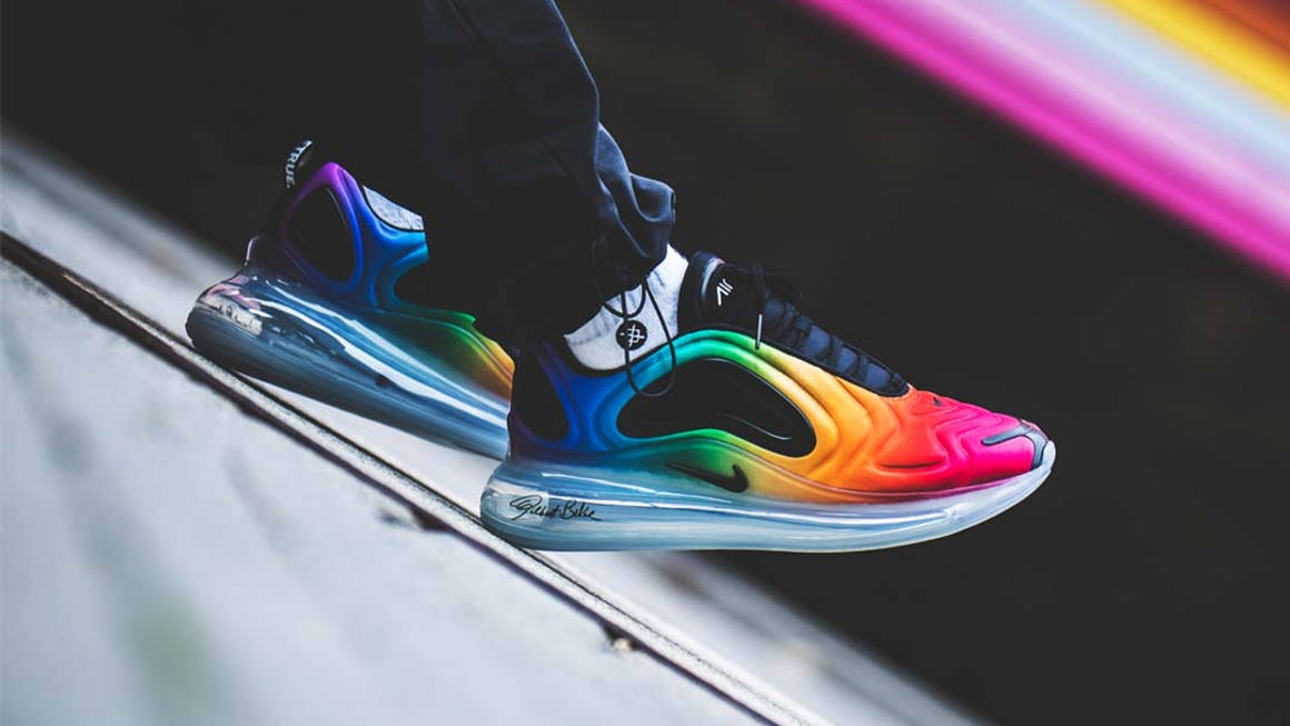 Nueve Cien años impacto  Kick Off Pride Month With The Nike Air Max 720 'Be True' | The Sole Supplier