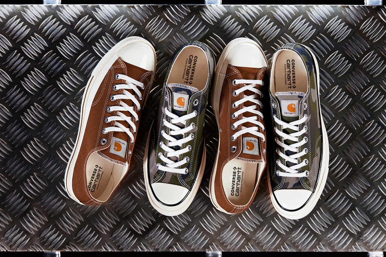 Carhartt WIP And Converse Gear Up For Military Inspired Chuck '70s