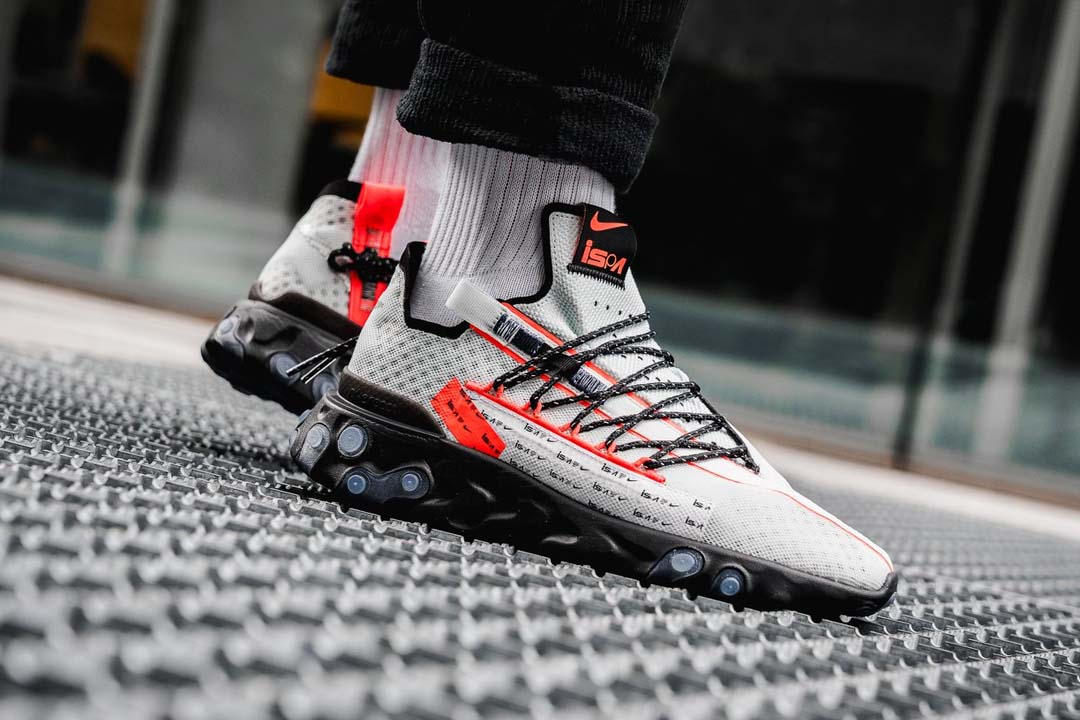 The Nike ISPA React 'Ghost Aqua' Is Made For The City Slicker