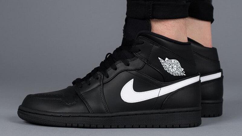 Jordan 1 Mid Black White | Where To Buy