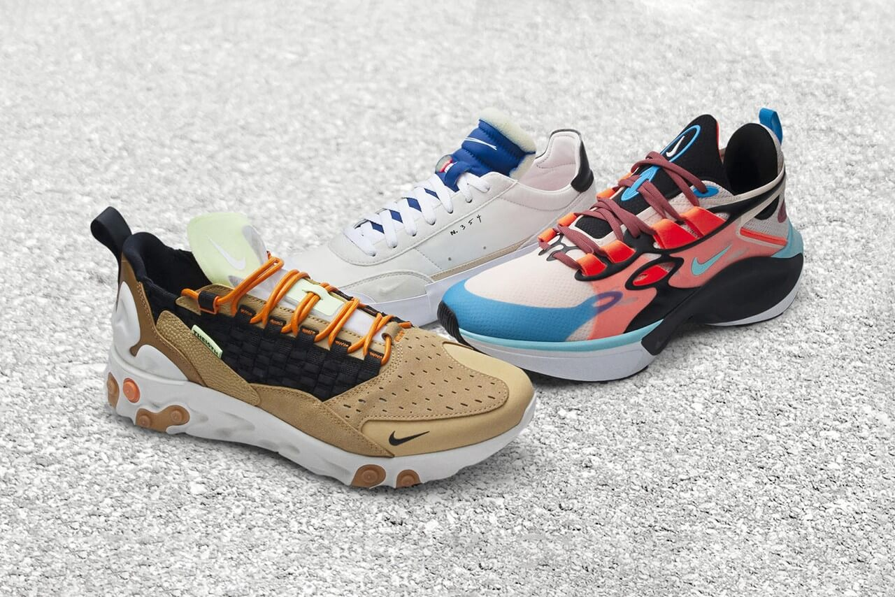 Nike Takes Deconstruction To Another Level With Three New Sneakers