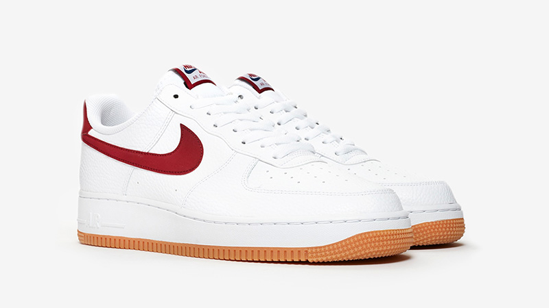 Nike Air Force 1 Low White Gum Blue Void