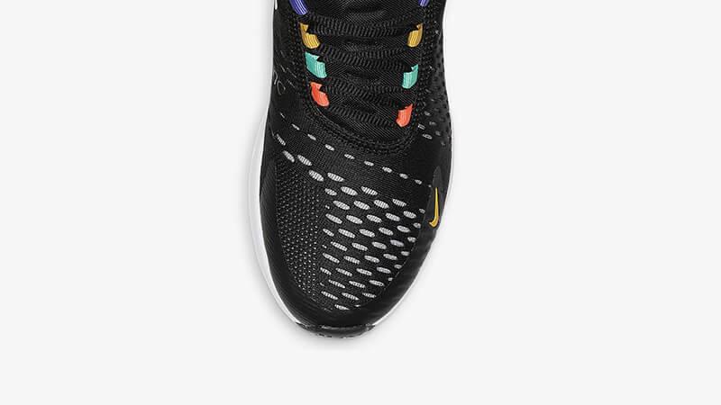 Nike Air Max 270 Black Multi AH6789-023 toebox